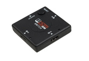 HDMI Manual 3 port Switch Box. 2.5cm , 3 out, Manual or Automatic Splitter for up to 3 devices. 1080p HD Video.