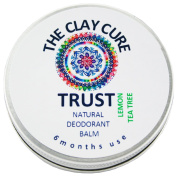 Trust Natural Deodorant Balm - Lemon & Tea Tree - 60g