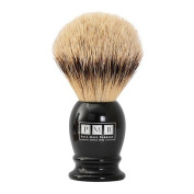 The Mayfair Soft Badger Hair Shaving Brush in Black Resin