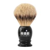 The Mayfair Soft Badger Hair Shaving Brush in Black Resin
