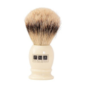 The Mayfair Soft Badger Hair Shaving Brush in Ivory Resin