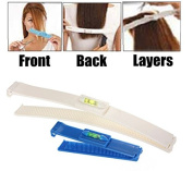 Ewin24 1x Pro Clipper Trimmer Thinning Haircutting Hairstyling Salon Cutting Tools Kit DIY Hair Styling Ruler