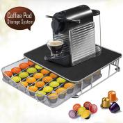 Beyondfashion 36 Coffee Machine Stand Capsule Pod Nespresso Dolce Gusto Storage Drawer