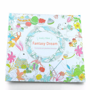 Fantasy Dream Coloring Book