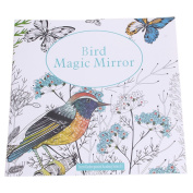 Bird Magic Mirror Based on Alice in Wonderland Colourig Book
