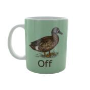 Paladone Duck Off Mug, Multicolour