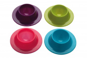 Superideal Colourworks Silicone Egg Serving Cup Holders (Set of Four)