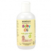 THREE PACKS of Bentley Organic Baby Oil 250ml