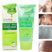 LuckyFine Aloe Vera Black Head Acne Cleaner Deep Clean Purifying Peel Off Facial Mask