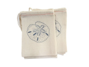 Design Corral Sand Dollar Favour Bags 4 X 6 Beach Wedding Favour Bags, Wedding Reception Decorations