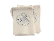 Design Corral Sand Dollar Favour Bags 4 X 6 Beach Wedding Favour Bags, Wedding Reception Decorations