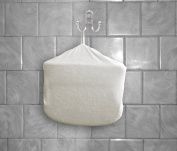 Bath Pillow Cover - Serenity Now Soft Removable Universal Cover & Attached Loop - Compatible With Most Two Panel Bath Pillows - A Product from the Simply Elegant Tranquil Home Spa Collection