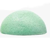 RAINYEAR Gentle Deep Cleaning Organic Facial Skincare Sponge Activated Face Shower Beauty Lavender Konjac Sponge for Sensitive Oily Acne Prone Skin