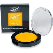 Mehron E.Y.E Cream Eye Shadow/Liner Makeup (Yellow) by Morris Costumes