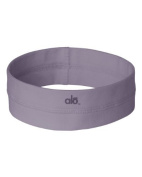 Alo Sport Ladies' Headband - LAVENDER - OS by alo