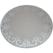 Darice NOM036864 Round Pattern Mirror 30cm by Darice
