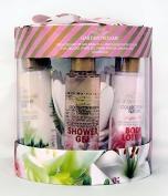 Opaline Garden Dreams Gift Set - Body Lotions, Shower Gels, Eva Sponge