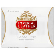 Imperial Leather Gentle Care Soap Bars Sensitive Skin (4x100g) - Pack of 2