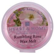 Heart & Home Wax Tart Melt Home Fragrance - Rambling Rose