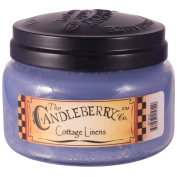 Candleberry 300ml medium Cookie Jar Candle - Cottage Linens