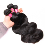 Magic Show Hair Brazilian Hair Body Wave 3 Bundles Unprocessed Virgin Human Hair Weave Weft Mixed Length Natural Colour