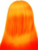 Hongshun 36cm Peruvian Ombre Hair Extension Grade 6A Remy Brazilian Virgin Human Hair Body Wave Hair Weave Two-tone Colour Orange