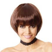 TLT New Fashion Upgrade Version Straight Short Hair Bob Wigs Women's Heat Resistant Wigs + a Free Wig Cap Cosplay Party Hair Wigs BU072