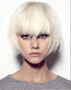 TLT Synthetic Short Straight Fashion Layered Hair Bob Natural Wigs Cosplay Wig for Women Natural As Real Hair+A Free Wig CAP BU069