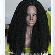 PlatinumHair 1b big YaKi wig synthetic lace front wigs glueless lace front wigs for black women 60cm - 70cm