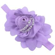 Yonger Babys Girls Flower Bowknot Photography Hairband Infant CuteHeadband