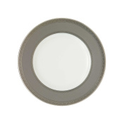 Waterford China New Grange Platinum 23cm Accent Plate