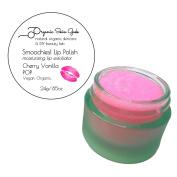 Lip Scrub - Smoochies! Exfoliating Lip Polish - Vegan Organic - 24g (Cherry Vanilla Pop!