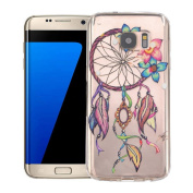 Samsung Galaxy S7 edge Case,AutumnFall® Ultra Thin Clear Art Pattern Crystal Gel TPU Rubber Flexible Slim Skin Soft Case for Samsung Galaxy S7 Edge