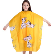 Hiliss Cute Child Salon Barber Gown Cape Hairdressing Hairdresser Hair Cutting Waterproof Cloth