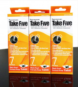 Dongsung Take 5 Hair Dye Grey Hair Coveage No. 7 Black Pack of 3 ...