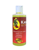 Kanchi Indian Herbal Hair Oil ®, 2 Fluid Ounce Exotic Indian Herbal Hair Oil, 100% All Natural & Drug FREE Hair Restoration/Shiner/Ultra Care Herbal Hair Oil for Women and Men