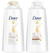Dove Anti-Frizz Oil Therapy Shampoo and Conditioner Set
