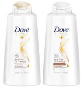 Dove Anti-Frizz Oil Therapy Shampoo and Conditioner Set