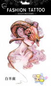 Grashine fashionable and hot selling Aries of 12 constellation on Mar 21~Apr 20 fake tattoos