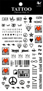Grashine long last temporary tattoos Different and unique designs and totems look like real temporary tattoo stickers