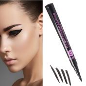 LQZ(TM) Waterproof Eyeliner Makeup Up Tool Black Liquid Eyeliner Pen Pencil Fine Lines And Broad Lines Cosmetic