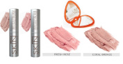 Set Miracle Skin Transformer Tinted Sculpting Balm Contour & Highlight Duo, Fresh Rose & Coral Bronze 5ml Each + BONUS GIFT
