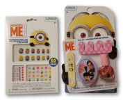 Despicable Me Press Nail Art and Press-On Nails and Nail Kit with Polish