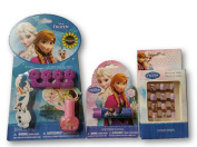 Disney's Frozen Lip Balm, Press on Nails and Nail Kit with Polish