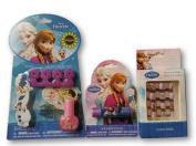 Disney's Frozen Lip Balm, Press on Nails and Nail Kit with Polish