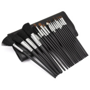 20Pcs Makeup Brush Eyeshadow Eyes Lips Foundation Brushes Set Make Up Cosmetic Tools