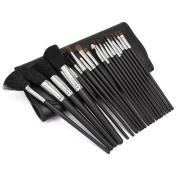 20Pcs Makeup Brush Eyeshadow Eyes Lips Foundation Brushes Set Make Up Cosmetic Tools