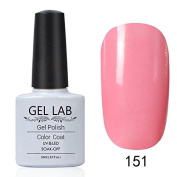 GEL LAB 10ml Soak Off Gel Nail Polish UV LAMP Long Lasting Top Coat Base Coat Foundation Choose 1 Colour from 206 colours No.151-180