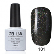 GEL LAB 10ml Soak Off Gel Nail Polish UV LAMP Long Lasting Top Coat Base Coat Foundation Choose 1 Colour from 206 colours No.091-120