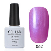 GEL LAB 10ml Soak Off Gel Nail Polish UV LAMP Long Lasting Top Coat Base Coat Foundation Choose 1 Colour from 206 colours No.061-090
